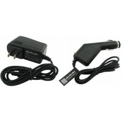 Super Power Supply® AC / DC Adapter Cord 2 in 1 Combo Wall + Car Charger for Arduino SainSmart Leonardo Due Mega Development Board Wall Barrel Plug