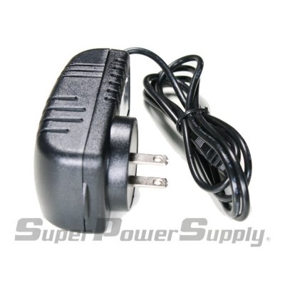 Super Power Supply® AC / DC Adapter Charger Cord for Android Tablet PC MID eReader with Round Jack US Plug 9V 2A 3.5mm