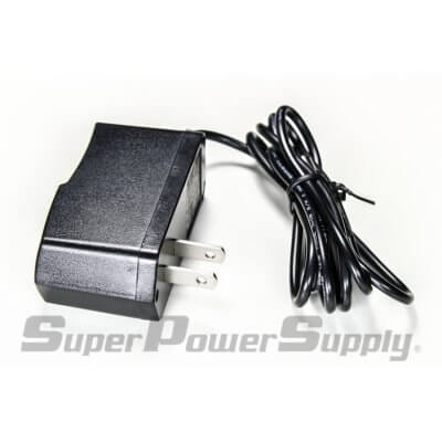 Super Power Supply® AC / DC Adapter Charger Cord 12V 1A (1000mA) 5.5mmx2.1mm / 5.5x2.1mm Wall Barrel Plug