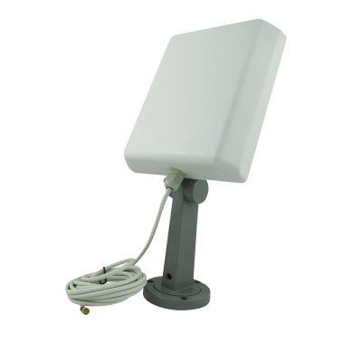 Super Power Supply® 1 16dBi 2.4GHz High Gain Booster Directional WiFi RP-SMA Antenna with stand and wall mount for D-Link DIR-655 DIR-825 DAP-1360