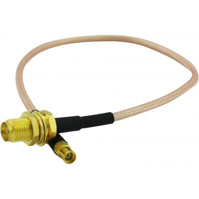 Super Power Supply® 3' RG58 RP-SMA Female to Male Antenna Weatherproof Cable Low Loss Reverse Connector Omni Directional Network Extension