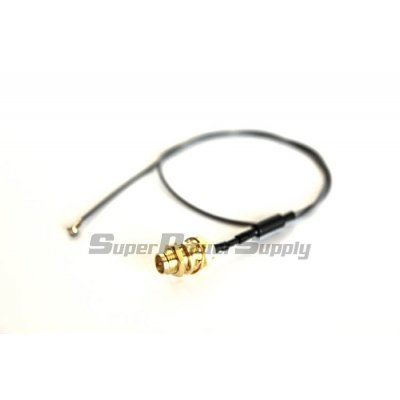 "Super Power Supply® 1 x 8"" inch / 20cm U.FL / IPX Mini PCIe to RP-SMA Antenna Pigtail"