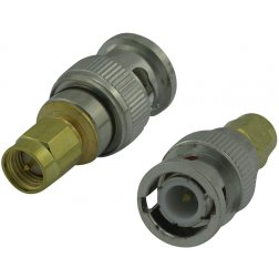 Super Power Supply® SMA Male to BNC Male Adapter Coax Coaxial Connector