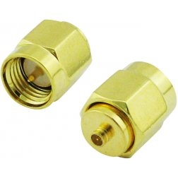 Super Power Supply® SMA Male to IPEX U.FL Male Center Straight RF Adapter Coax Coaxial Connector