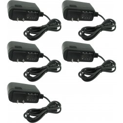 Super Power Supply® AC / DC 12V 1A Switching Adapter CCTV Cameras 5 Pack