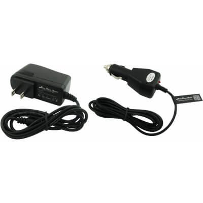 "Super Power Supply® AC / DC Adapter Combo Wall + Car Charger for HKC P771A LC07740 7"" Capacitive Touchscreen Tablet LC07740ORG LC07740PK Barrel Plug"